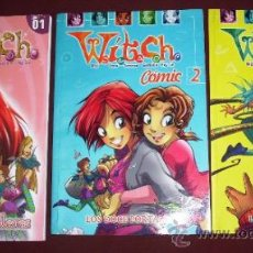 Cómics: LOTE DE 3 PRIMERAS REVISTAS DE LAS WITCH DE ED. DISNEY EN MADRID 2009. Lote 36538194