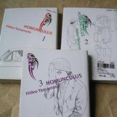 Comics : MANGA – HOMUNCULUS 1 2 3 – ED PONENT MON AÑO 2005 – MUY BUEN ESTADO – TAMBIÉN SUELTOS. Lote 36694323