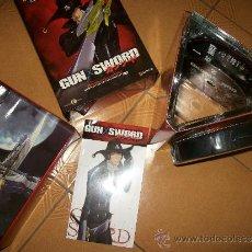 Cómics: GUN SWORD - EDICION COLECCIONISTA NUMERADA 1577 DE 1999-6 DVD + LIBRO PERSONAJES + CAMISETA PRECIN. Lote 37351067