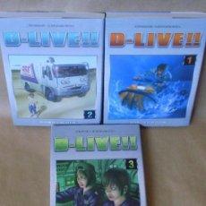Cómics: MANGA – D LIVE 1 2 3 – ED PLANETA AÑO 2008 – Y REGALO ? - MUY BUEN ESTADO. Lote 37374332
