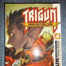 Cómics: TRIGUN MAXIMUM Nº 4 (DE 14), YASUHIRO NIGHTOW. Lote 38931422