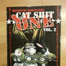Cómics: CAT SHIT ONE VOL. 2, DE MOTOFUMI KOBAYASHI. Lote 38991938
