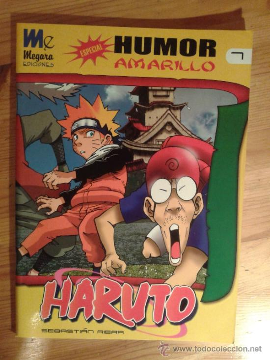 HARUTO - ESPECIAL HUMOR AMARILLO - Nº 7 - SEBASTIAN RIERA (Tebeos y Comics - Manga)