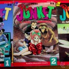 Cómics: PIXIE JUNKET. 3 TOMOS. COLECCION COMPLETA.. Lote 42588274