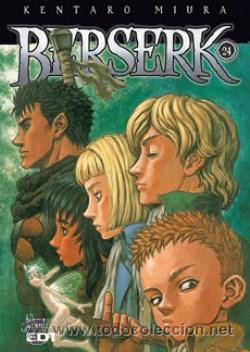 BERSERK Nº 24 DE KANTARO MIURA SÓLO PARA ADULTOS EDITORIAL EDT (Tebeos y Comics - Manga)