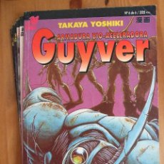 Cómics: GUYVER ARMADURA BIO-ACELERADORA - COMPLETA - PLANETA - 6 TOMOS - TAKAYA YOSHIKI. Lote 44142676