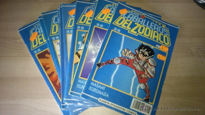 COMICS MANGA SAINT SEIYA CABALLEROS DEL ZODIACO - NÚMEROS 1 AL 23, 26,27,28,29 (Tebeos y Comics - Manga)