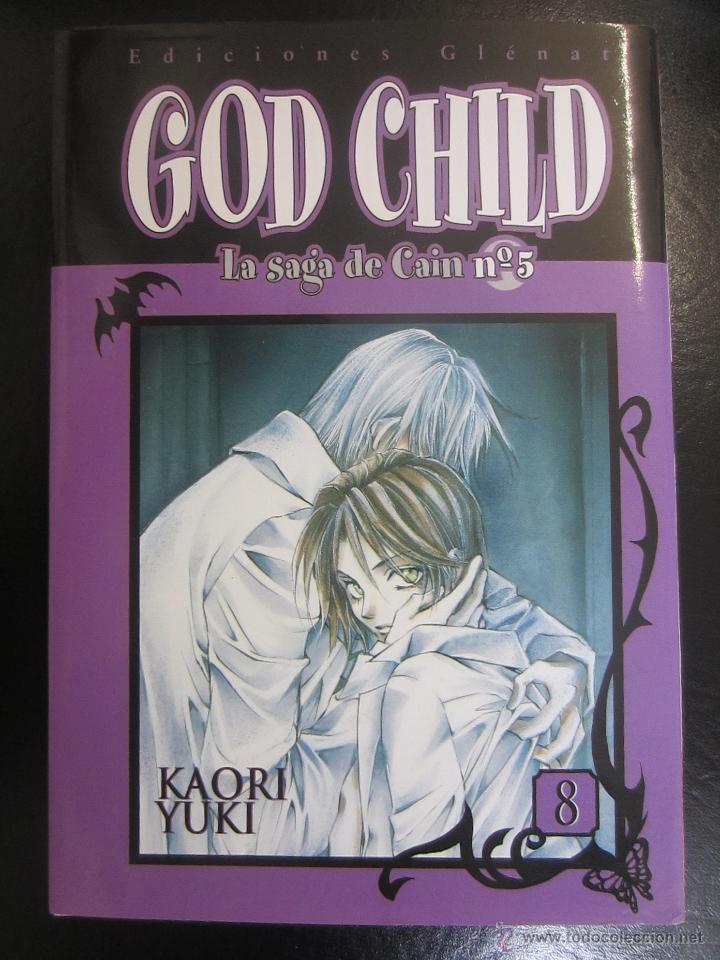 GOD CHILD, LA SAGA DE CAÍN Nº 5, 8 (Tebeos y Comics - Manga)