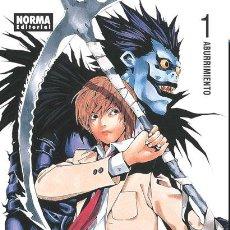 Cómics: CÓMICS. MANGA. DEATH NOTE 01 - TSUGUMI OHBA/TAKESHI OBATA. Lote 291547673