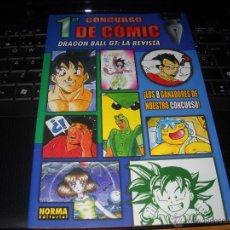 Cómics: PRIMER CONCURSO DE COMIC DRAGON BALLGT: LA REVISTA, 1996.NORMA EDITORIAL.. Lote 46637046