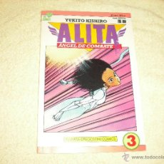 Cómics: ALITA Nº 3 DE 6 . ANGEL DE COMBATE. YUKITO KISHIRO .PLANETA DE AGOSTINI. Lote 47093105