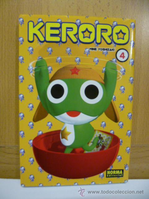 KERORO 4 / MINE YOSHIZAKI / NORMA EDITORIAL (Tebeos y Comics - Manga)