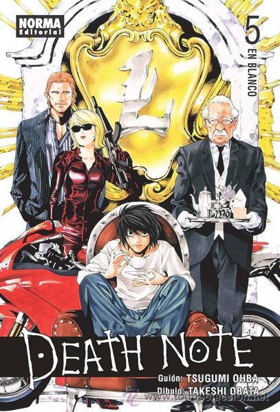 CÓMICS. MANGA. DEATH NOTE 5 - TSUGUMI OBHA/TAKESHI OBATA (Tebeos y Comics - Manga)