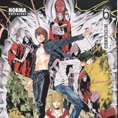 Cómics: CÓMICS. MANGA. DEATH NOTE 6 - TSUGUMI OBHA/TAKESHI OBATA. Lote 47450041