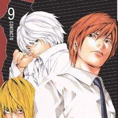Cómics: CÓMICS. MANGA. DEATH NOTE 09 - TSUGUMI OHBA/TAKESHI OBATA. Lote 48506346