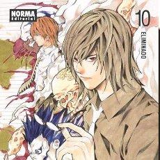 Cómics: CÓMICS. MANGA. DEATH NOTE 10 - TSUGUMI OHBA/TAKESHI OBATA. Lote 55951795