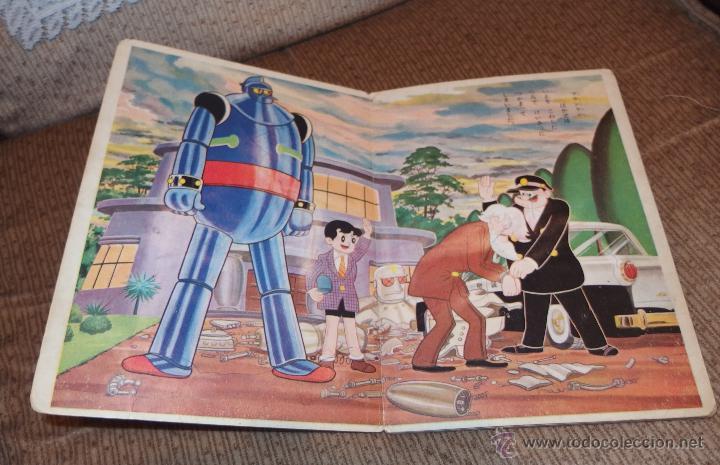 Cómics: TETSUJIN 28(GIGANTOR),Nº1,PRINTED IN JAPAN,FINALES AÑOS 50 - Foto 5 - 49332328