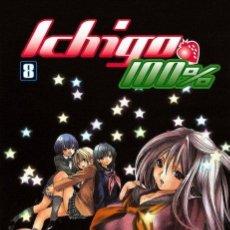 Cómics: ICHIGO 100% LOTE DE 2 Nº (8-10). Lote 49715443