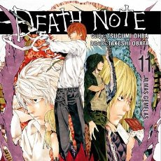 Cómics: CÓMICS. MANGA. DEATH NOTE 11 - TSUGUMI OHBA/TAKESHI OBATA. Lote 50072546