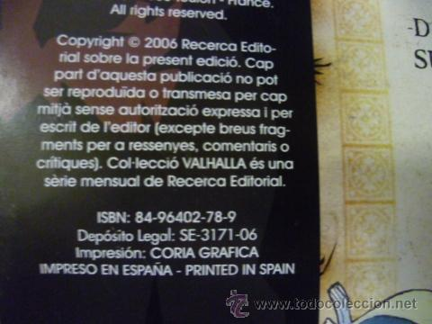 Cómics: AKAMESHI Nº 1 COLECCION VALHALLA ¡MUY BUEN ESTADO! MANGA - Foto 3 - 51699989