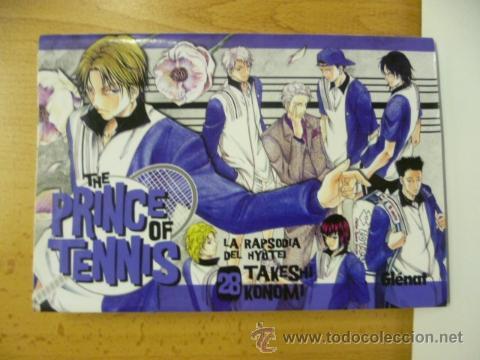 THE PRINCE OF TENNIS Nº 28 (TAKESHI KONOMI) GLENAT (Tebeos y Comics - Manga)