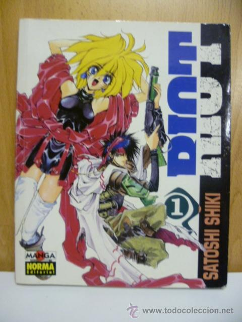 RIOT Nº 1 (DE 2), SATOSHI SHIKI (Tebeos y Comics - Manga)