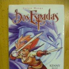 Cómics: DOS ESPADAS -- Nº 1 DE 3 -- KENNY RUIZ -- GLENAT --. Lote 51737831