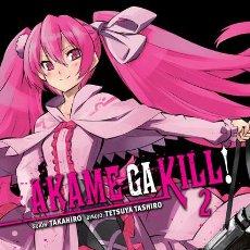 Cómics: CÓMICS. MANGA. AKAME GA KILL! 2 - TAKAHIRO/TASHIRO. Lote 52456123