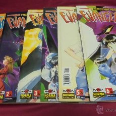 Comics: NEOGENESIS EVANGELION . 6 TOMOS. DE Nº 1 AL Nº 6. NORMA EDITORIAL.. Lote 286807298