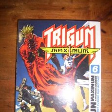 Cómics: TRIGUN MAXIMUM. NÚM. 6 / YASUHIRO NIGHTOW. [SHONEN MANGA]. Lote 222071443