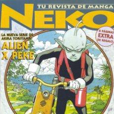 Cómics: NEKO Nº23. CAMALEÓN, 1996. AKIRA TORIYAMA, ALIEN X PEKE, KEVIN HERAULT, TENTACIÓN, TOKYO BABYLON,.... Lote 53108692