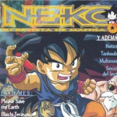 Cómics: NEKO Nº21. CAMALEÓN, 1996. DRAGON BALL, ALITA, OGENKI CLINIC, BUICHI TERASAWA, PLEASE SAVE MY EARTH.. Lote 53202786