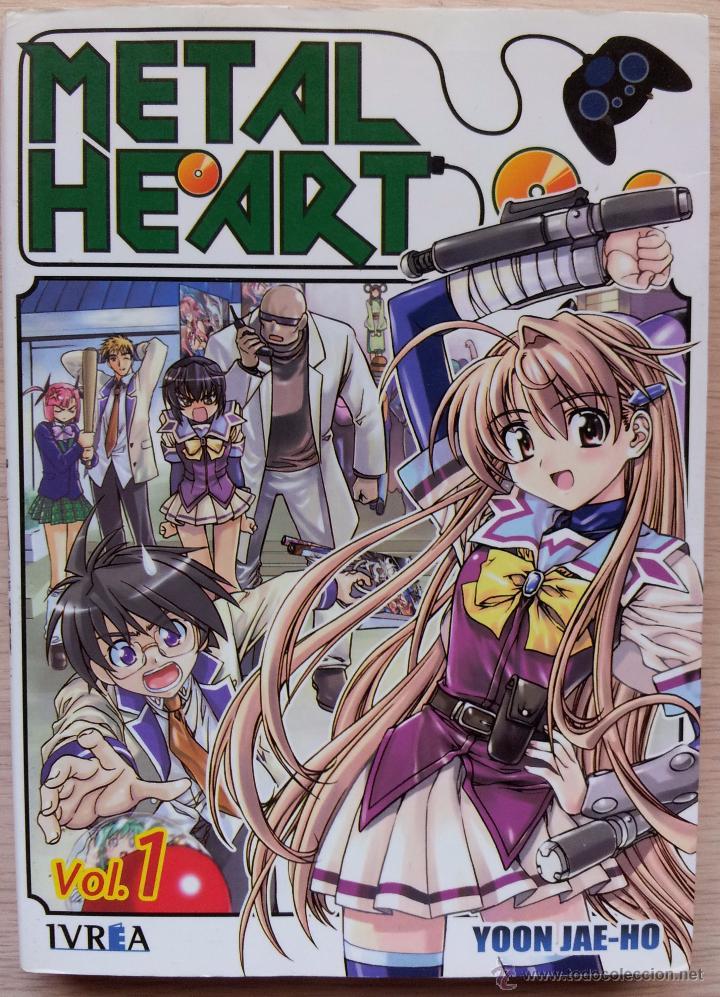 Cómics: LOTE DE 5 PRIMEROS NUMEROS DEL MANGA: METAL HEART - YOON JAE HO -EDITORIAL IVREA 2007 - Foto 2 - 53255280