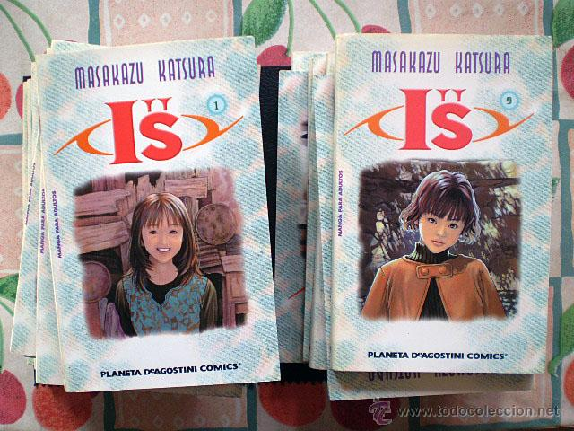 MASAKAZU KATSURA: IS I'S I''S (PLANETA DEAGOSTINI, COMPLETA, 15 TOMOS) (Tebeos y Comics - Manga)