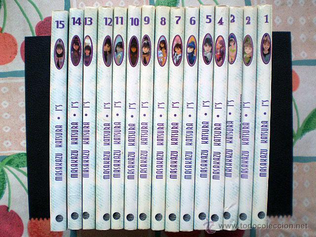 Cómics: Masakazu Katsura: Is I's I''s (Planeta DeAgostini, completa, 15 tomos) - Foto 2 - 54161104