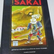 Comics: EL PROYECTO SAKAI (ARTISTAS CELEBRAN LOS 30 AÑOS DE USAGI YOJIMBO) PLANETA. Lote 126999091