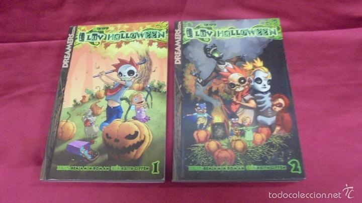 i luv halloween coleccion completa dos tomos 1 y 2 editorial dreamers - I Luv Halloween Manga