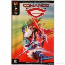 Cómics: COMANDO G / LA BATALLA DE LOS PLANETAS Nº 1 DE 6 / PLANETA 2004 (MUNIER SHARRIEFF & WILSON TORTOSA). Lote 56813175