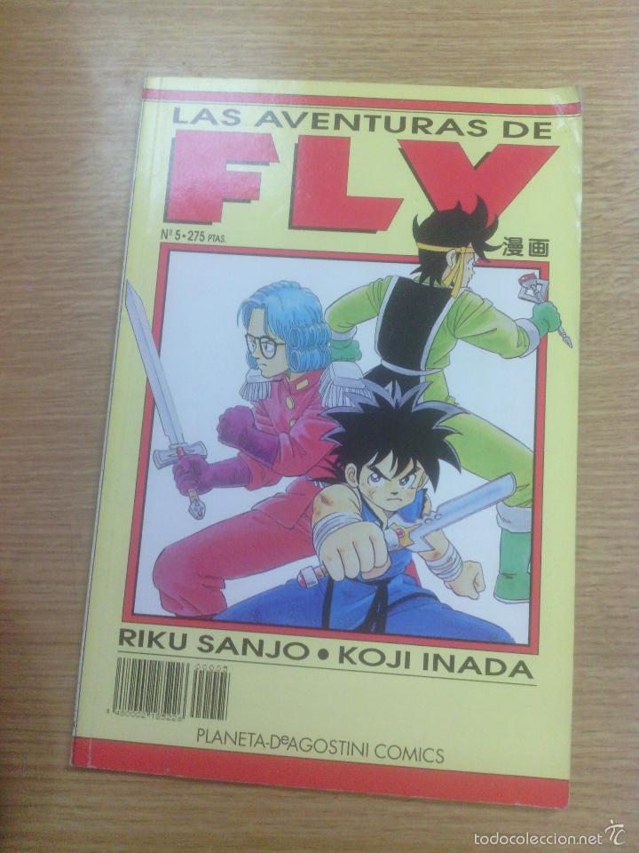 AVENTURAS DE FLY #5 (PLANETA) (Tebeos y Comics - Manga)