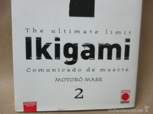 Cómics: Ikigami - Comunicado de muerte 2: La pastilla del amor / La llamada a filas - Mase, Motorô - Foto 2 - 56974381