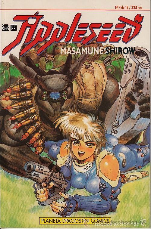 Appleseed Nº 4 Masamune Shirow Buy Manga Comics At Todocoleccion 57198684