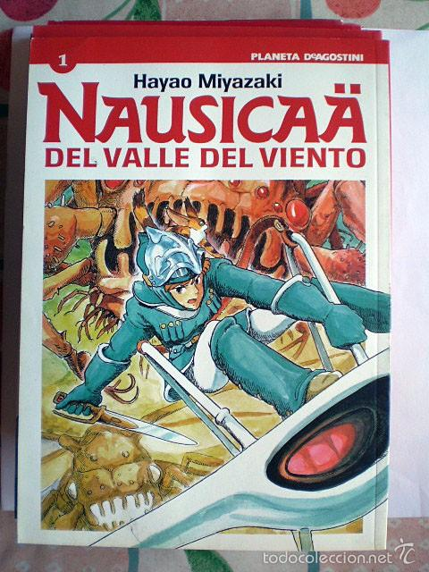 HAYAO MIYAZAKI: NAUSICAÄ DEL VALLE DEL VIENTO (PLANETA DEAGOSTINI, COMPLETA, 6 TOMOS) MUY BUEN ESTAD (Tebeos y Comics - Manga)