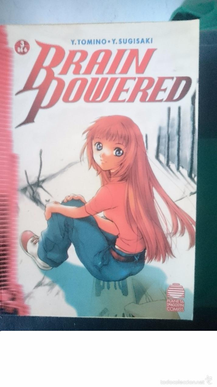 BRAIN POWERED - PARTE 3 DE 6 - Y.TOMINO - Y-SUGISAKI -COMIC MANGA EN ESPAÑOL (Tebeos y Comics - Manga)