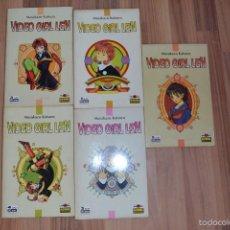 Cómics: 5 COMICS VIDEO GIRL LEN . Lote 57631220