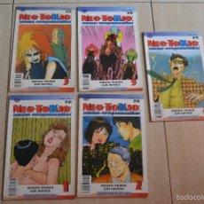 Cómics: 5 COMICS NEO-TOKIO ZONA CREPUSCULAR . Lote 57708169