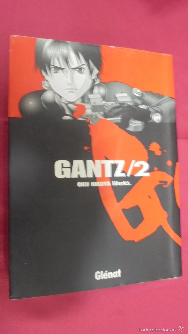 GANTZ. Nº 2. OKU HIROYA WORKS. GLÉNAT. (Tebeos y Comics - Manga)