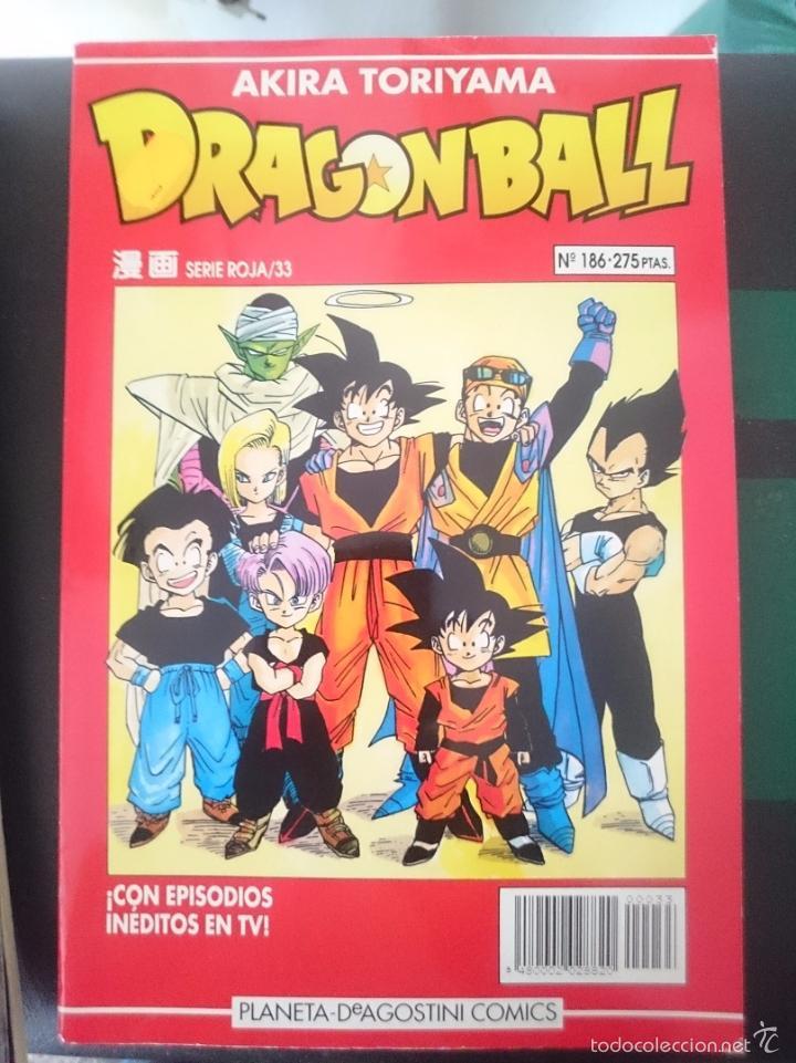 DRAGON BALL - AKIRA TORIYAMA - N 186 - SERIE ROJA 33 (Tebeos y Comics - Manga)
