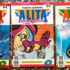 Cómics: MANGA ALITA. PARTE 3. NUMEROS 1, 2 Y 4. PERFECTOS. Lote 58085786