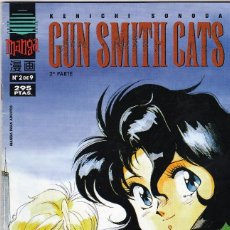Cómics: LOTE 4 COMICS MANGA: GUN SMITH CATS, KENICH SONORA.1996/9.( 4 FOTOS). Lote 58997310