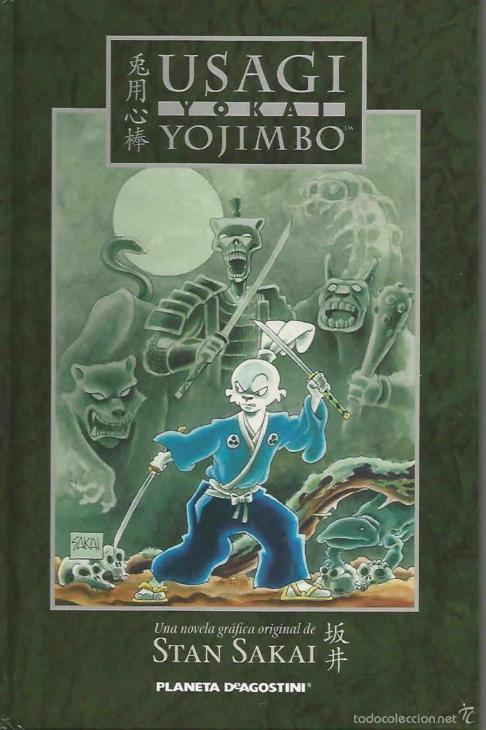 USAGI YOJIMBO YOKAI PLANETA DEAGOSTINI (Tebeos y Comics - Manga)